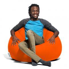 【10%OFF】Yogibo Pod(ポッド) - オレンジ ヨギボー ポッド 快適すぎて動けなくなる魔法のソファ ビーズソファー ビーズクッション 1人掛けソファ【1~3営業日で出荷予定】【受注生産品】【分納の場合あり】