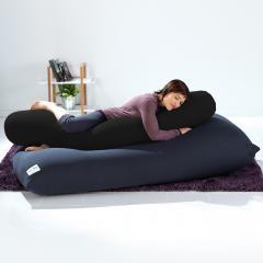 【10%OFF】Yogibo Roll Max(ロールマックス) - ブラック ヨギボー ロール マックス 抱き枕 マタニティ ビーズクッション【1~3営業日で出荷予定】【受注生産品】【分納の場合あり】