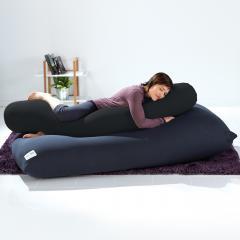 【1~3営業日で出荷予定】Yogibo Roll Max(ロールマックス) - ダークグレー / ヨギボー ロール マックス / 抱き枕 / マタニティ / ビーズクッション【受注生産品】【分納の場合あり】