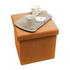 【1~3営業日で出荷予定】Yogibox Cube - オレンジ /  ヨギボックス キューブ / テーブル / 折りたたみ / 収納【分納の場合あり】