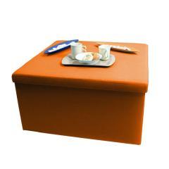 【1~3営業日で出荷予定】Yogibox Grande - オレンジ /  ヨギボックス グランデ / テーブル / 折りたたみ / 収納【分納の場合あり】