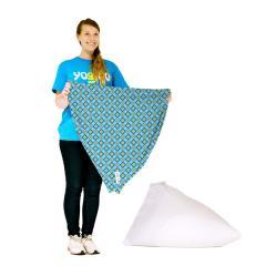 【1~3営業日で出荷予定】Yogibo Zoola Pyramid Cover - ダイヤモンド / ヨギボー ズーラ ピラミッド 専用カバー / ソファーカバー / クッションカバー / 屋外対応【分納の場合あり】