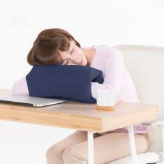 Yogibo Zipparoll - ネイビーブルー ヨギボー ジッパロール 枕 座布団 背もたれ ビーズクッション【1~3営業日で出荷予定】【分納の場合あり】