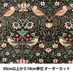 【数量5から】 生地 『moda fabrics William Morris ウィリアムモリス Strawberry Thief 8176-11』
