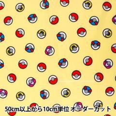 【数量5から】 生地 『ポケットモンスター G6081-1B シーチング』KOKKA コッカ