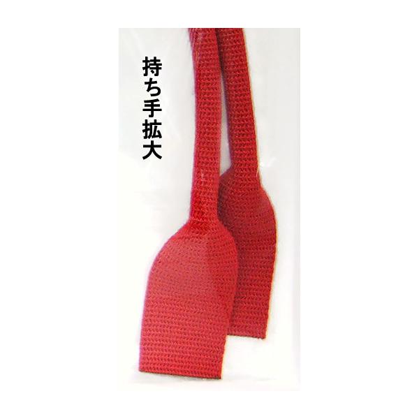 持ち手 『アクリル持ち手 YAT-421 (2本入り) 11(黒)』 袋・バッグ用