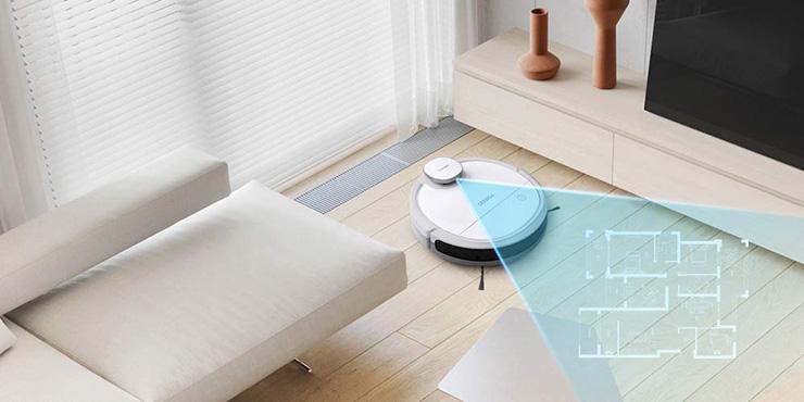 自動でお部屋を測定 スマートナビ