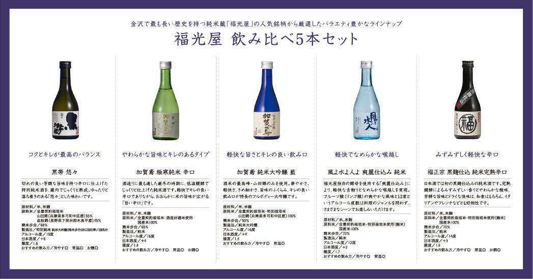 加賀鳶飲み比べ