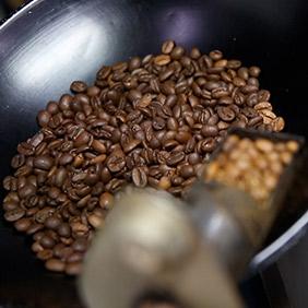 コーヒー豆焙煎のイメージ
