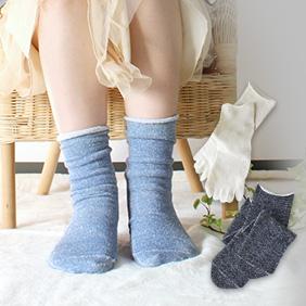 冷え取りシルク靴下