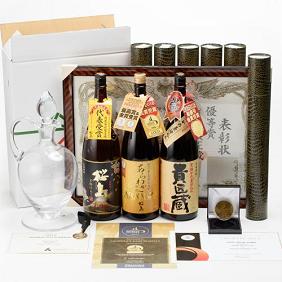世界一&日本一受賞 芋焼酎 飲み比べ 3本セット