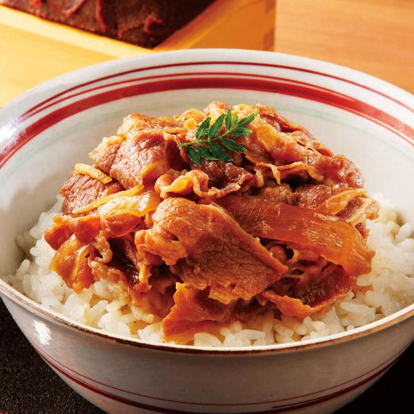 【送料無料】恵比寿「なすび亭」監修 こっくり旨味の牛丼