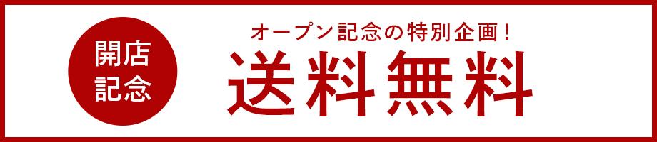 開店記念 オープン記念の特別企画!送料無料
