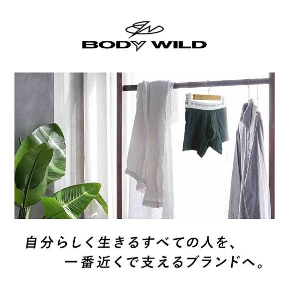 (グンゼ)GUNZE (ボディワイルド)BODY WILD リブ クルーネック 半袖 Tシャツ M L LL