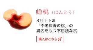 蟠桃(ばんとう)