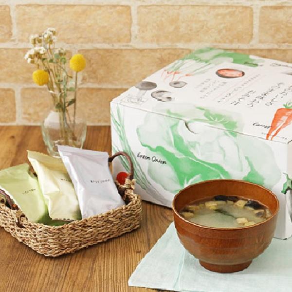 【LOHACO限定】アスザックフーズ 具材のおいしさそのまま味わうおみそ汁 ー3種・化学調味料無添加ー(30食) 1個