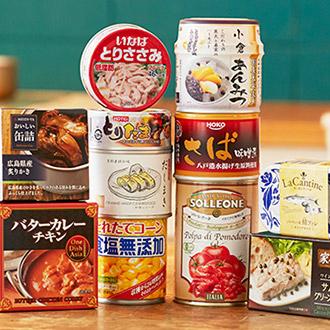 缶詰デリ特集