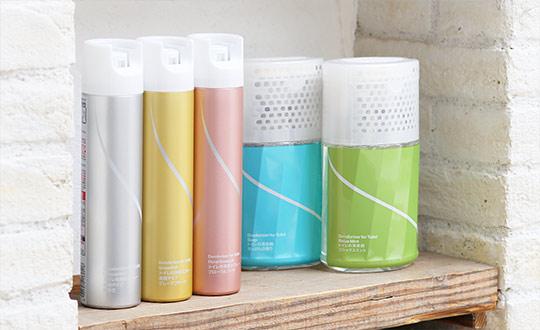 トイレの消臭スプレー&消臭剤