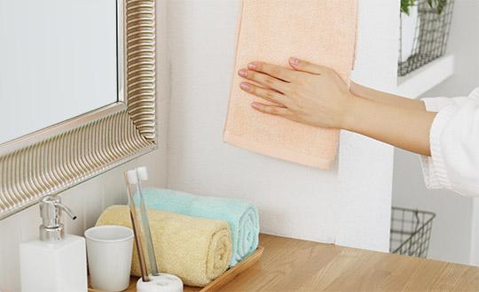 安心の抗菌防臭加工つき