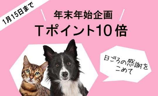【年末年始企画】人気のペット用品 Tポイント10倍