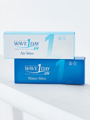 WAVEワンデー UV エアスリム、WAVEワンデー UV ウォータースリム