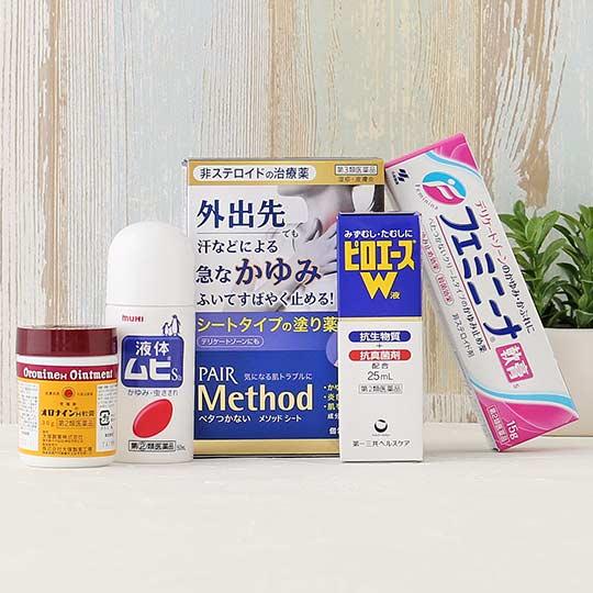 悩みに合わせて選ぶ、皮膚治療薬