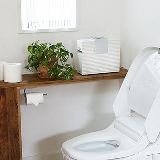 トイレ用瞬間消臭機
