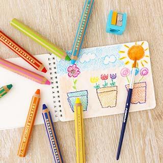 色鉛筆 バディ