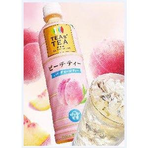 TEAS'TEA NEW AUTHENTIC ピーチティーwith グリーンティー 450ml