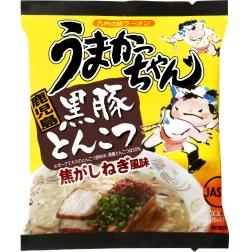 九州の味ラーメン焦がしねぎ風味【うまかっちゃん鹿児島黒豚とんこつ】