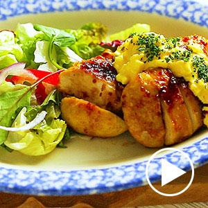 サラダチキンで揚げない簡単チキン南蛮