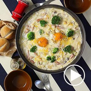 カルボナーラ鍋