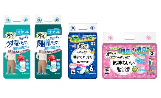 【大人用紙おむつ肌ケアアクティ】レビューキャンペーン