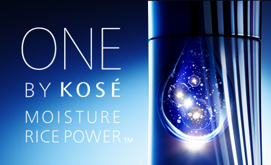 ONE BY KOSE MOISTURE RICE POWER™