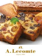 チェリーやプラム、クランベリーなどのドライフルーツをたっぷり使った焼菓子。代々受け継ぐ商品です。