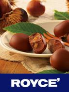 秋の味覚「栗」をたっぷりとじ込めた、贅沢なチョコレート