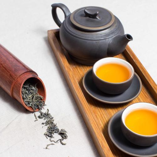 世界中から厳選した茶葉