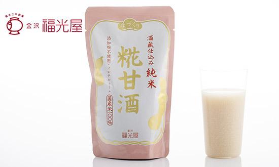 金沢 福光屋 基本は米と水。福光屋は純米酒蔵です。