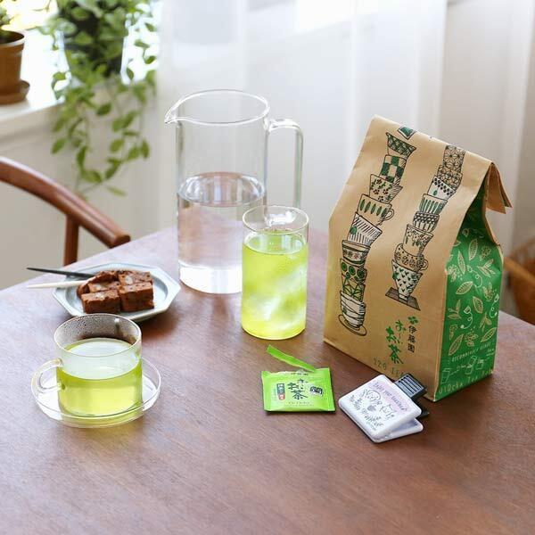 ロハコ展2020 伊藤園 環境対応おーいお茶緑茶ティーバッグ