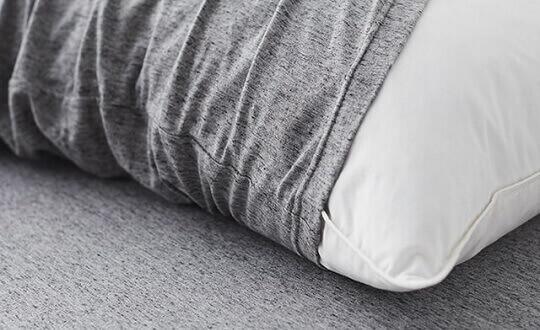 綿天竺の寝具カバー