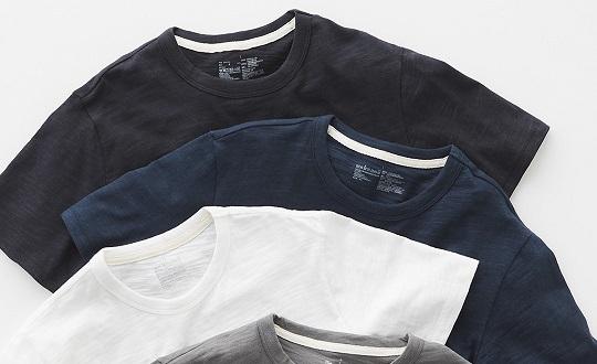 綿のTシャツ|紳士