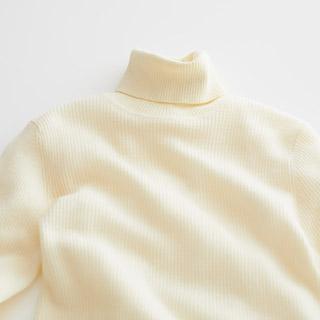 紳士婦人 首のチクチクおさえたセーター