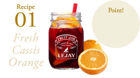 Recipe01 Fresh Cassis Orange